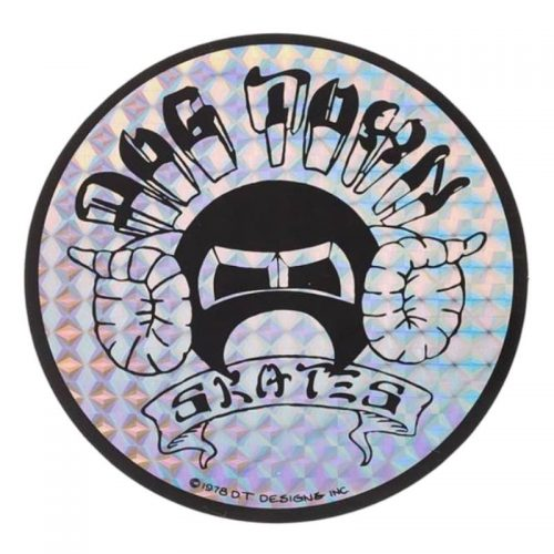 Dogtown Murf Horn Sticker Prismatic Canada Online Sales Vancouver Pickup