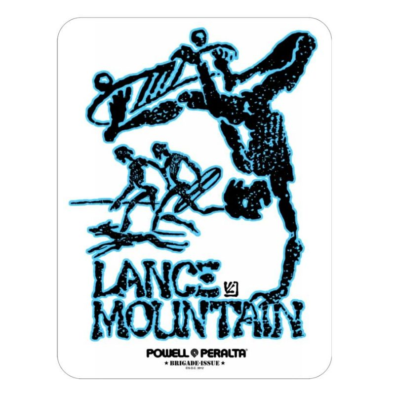 Powell Peralta Lance Mountain Sticker Canada Online Sales Vancouver Pickup