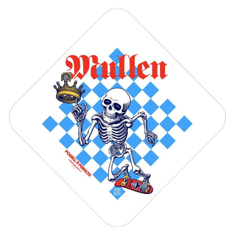 Powell Peralta Mullen Chess Sticker Canada Online Sales Vancouver Pickup