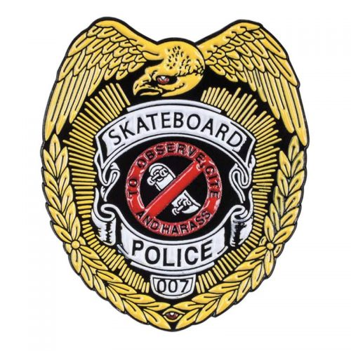 Powell Peralta Skateboard Police Pin Canada Online Sales Vancouver Pickup