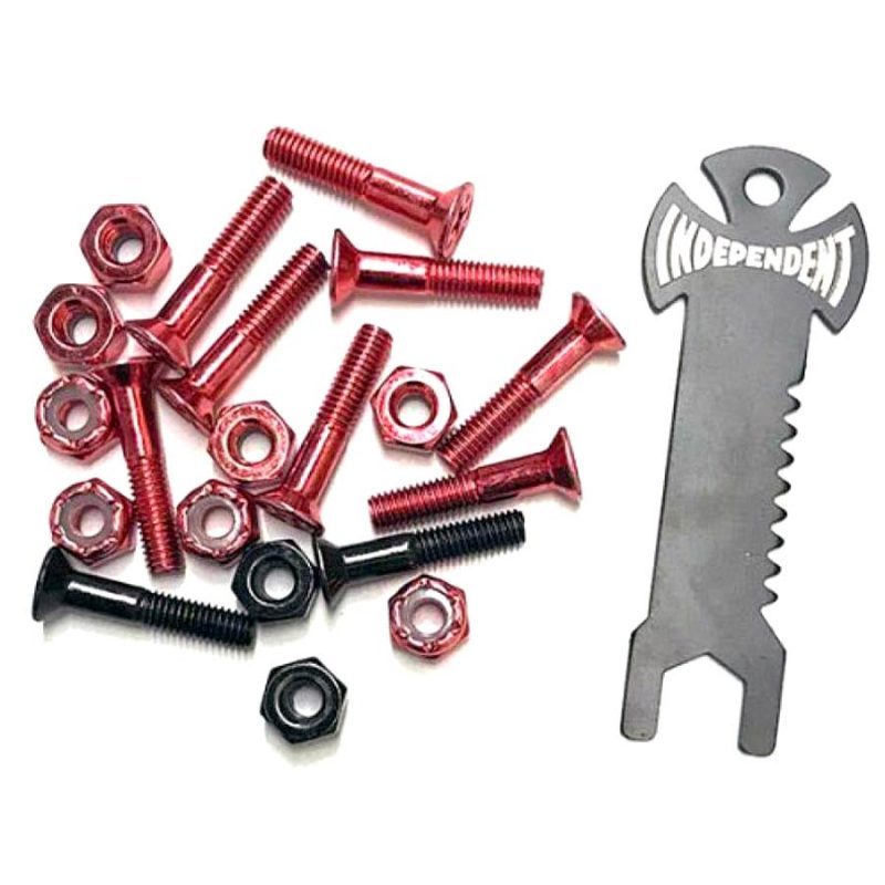 Independent Red Black Hardware Canada Pickup Vancouver