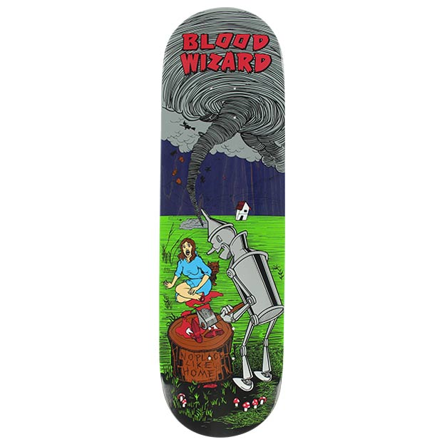 Blood Wizard Tin Man Skateboard Deck 8.75 x 32.125 Canada Online Sales Vancouver Pickup Warehouse Distributor