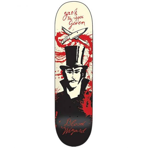 Blood Wizard Given Ripper Skateboard Deck 8.67 x 32.675 Canada Online Sales Vancouver Pickup Warehouse Distributor