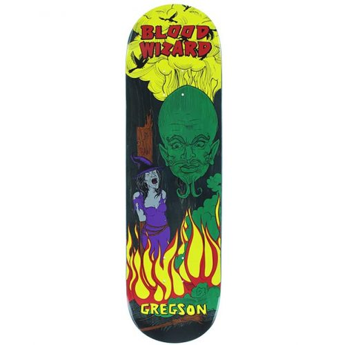 Blood Wizard Chris Gregson Wizard Skateboard Deck 8.5 x 31.875 Canada Online Sales Vancouver Pickup Warehouse Distributor