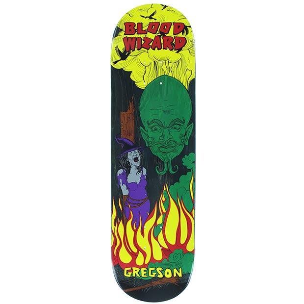 Blood Wizard Chris Gregson Wizard Skateboard Deck 8.5 x 31.875 Canada Online Sales Vancouver Pickup Warehouse Distributor