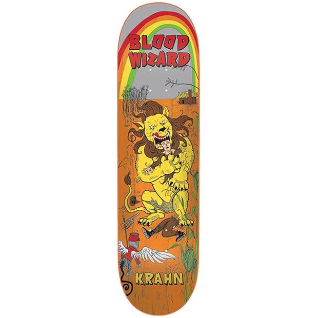 Blood Wizard Ben Krahn Lion Skateboard Deck 8.67 x 32.675 Canada Online Sales Vancouver Pickup Warehouse Distributor