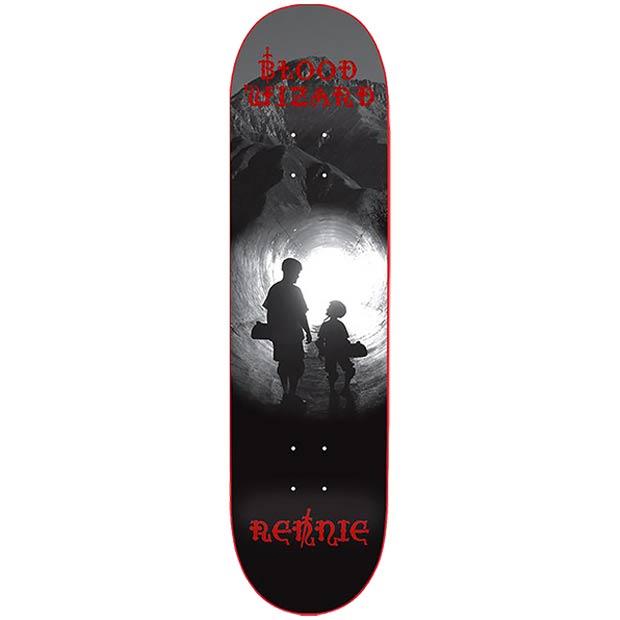 Blood Wizard Tristan Rennie Baldy Skateboard Deck 8.5 x 31.875 Canada Online Sales Vancouver Pickup Warehouse Distributor