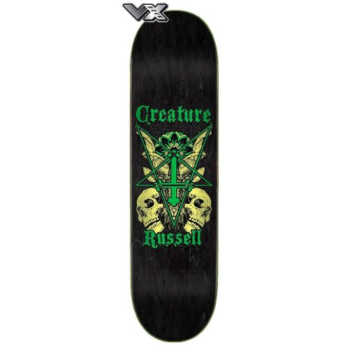 Creature VX deck Russel Coat of Arms 8.6 x 32.11 Canada Online Sales Vancouver Pickup Warehouse Distributor