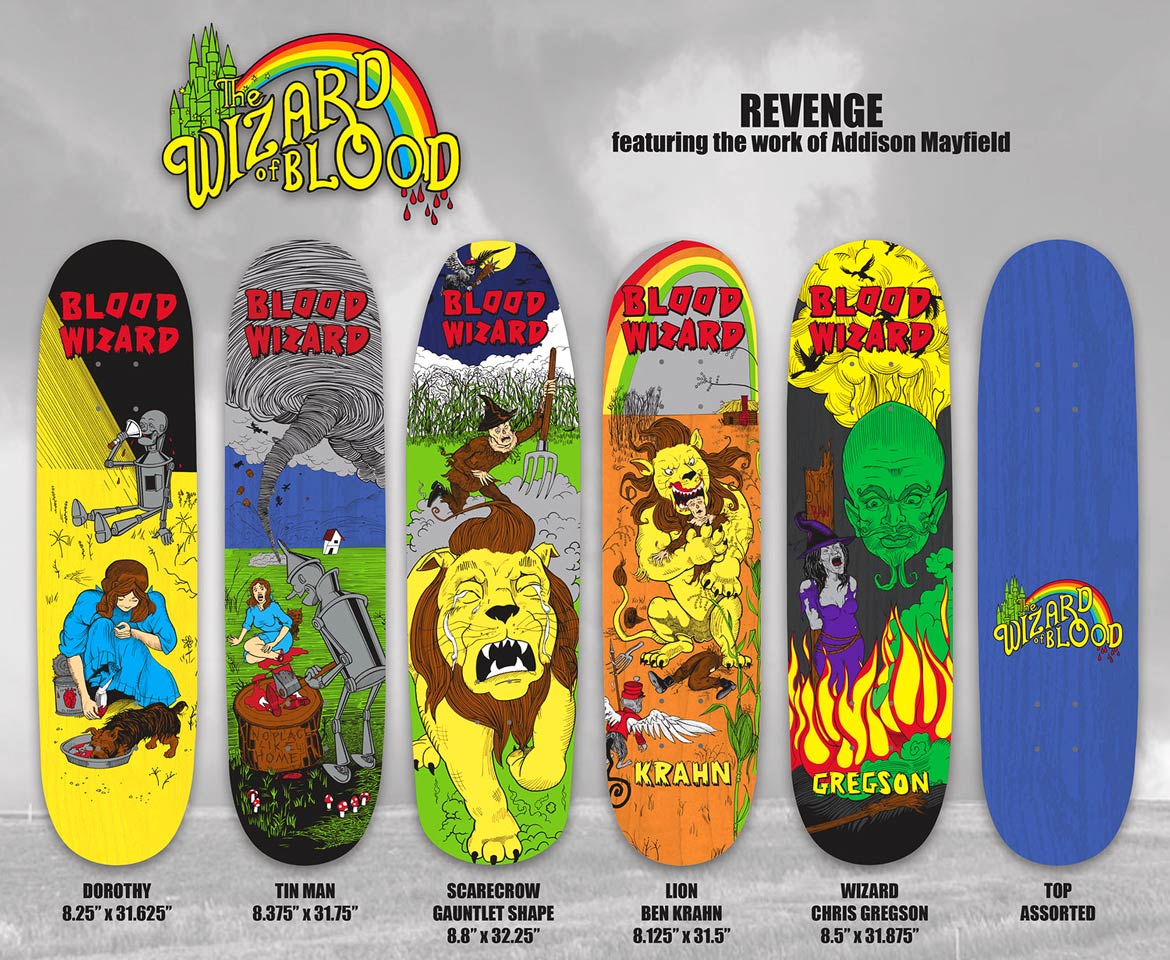 Blood Wizard Skateboards Canada Pickup Vancouver