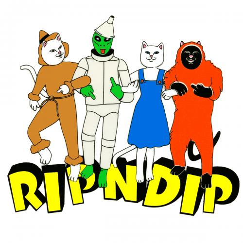 Wizard Of Oz Rip N Dip Kitty Sticker