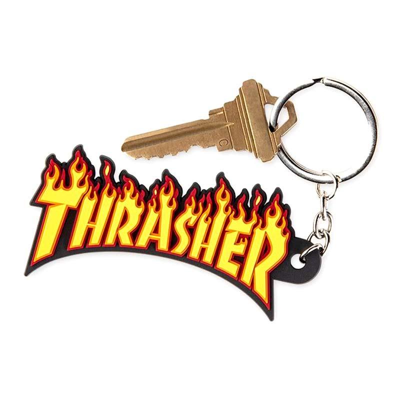 Thrasher Magazine Rubber Keychain Canada Pickup Vancouver