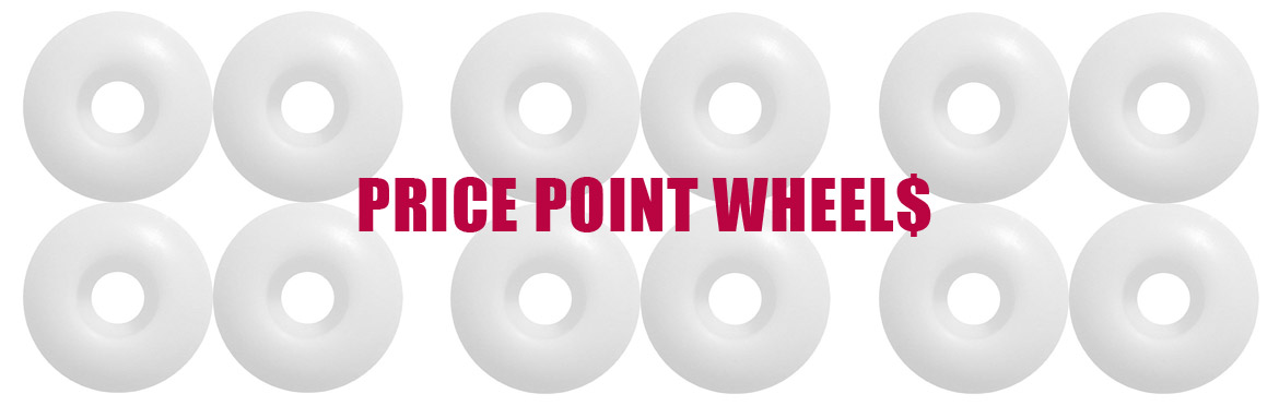 PRICE POINT Skateboard wheels Canada Online Sales Vancouver Pickup