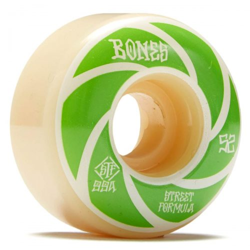 Bones Stf v1 standards 52mm 99a white green patterns Canada Online Sales Vancouver Pickup Warehouse Distributor
