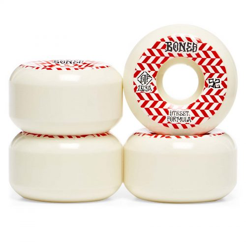 Bones stf 52mm 83b patterns sidecuts v5 white red Canada Online Sales Vancouver Pickup Warehouse Distributor