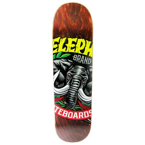 Elephant Brand Logo Deck 8.5 brown Canada Online Sales Vancouver Pickup Warehouse Distributor