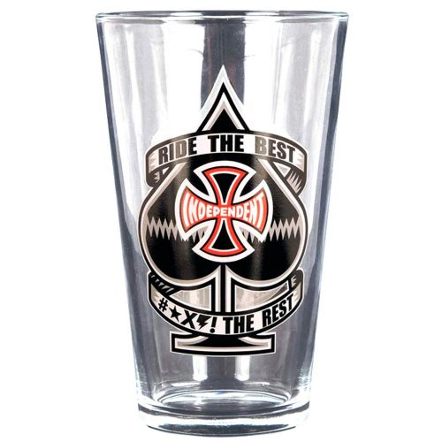 INDY RIDE THE BEST ANTE PINT GLASS Canada Online Sales Vancouver Pickup Warehouse Distributor