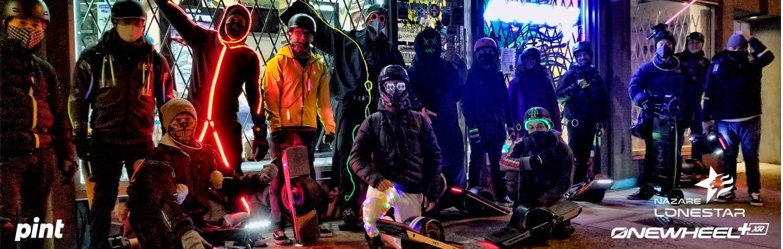 Halloween Onewheel Lacroix Ride Vancouver Canada 2020