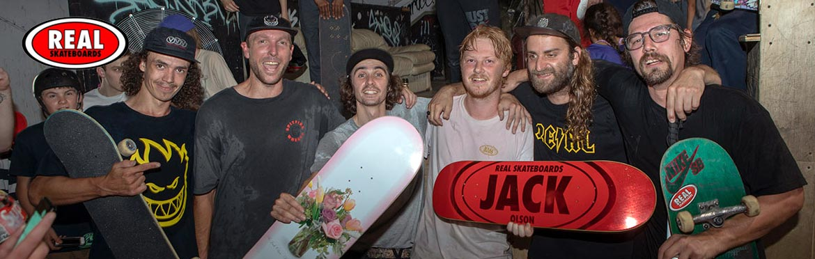 Real Skateboards Header Head Banner 1170 IN Jack Olson Pro Canada Online Sales Vancouver Pickup Warehouse Distributor