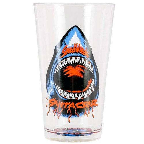 Santa Cruz Shark Pint Glass Canada Pickup Vancouver