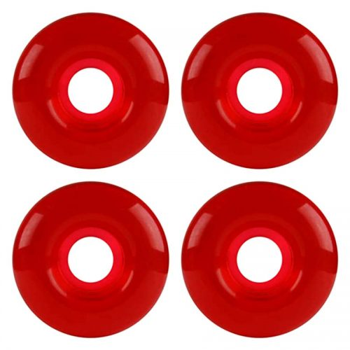 PRICE POINT Skateboard wheels 52mm 101a Clear Red Canada Online Sales Vancouver Pickup