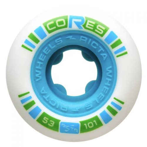 Ricta Cores 53mm 101a Neon Blue Canada Online Sales Vancouver Pickup