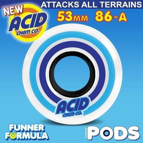 Acid Pods wheels 86a white Canada Online Sales Vancouver Pickup FLIP