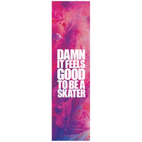 """Blind Damn it feels good to be a skater griptape purple pink 9"""" x 33"""" Canada Online Sales Vancouver Pickup Warehouse Distributor"""