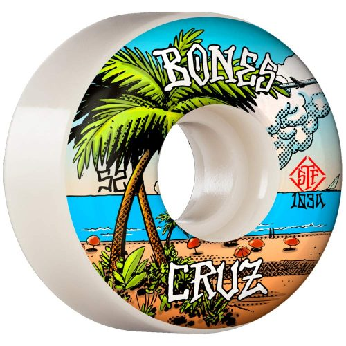 Bones Cruz Buena Vida v2 locks 53mm 103a white Canada Online Sales Vancouver Pickup