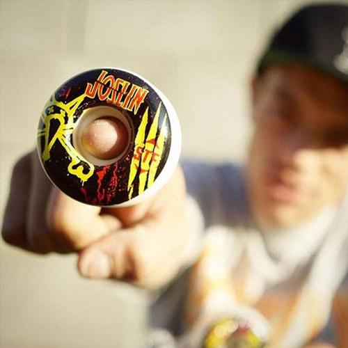 Chris Joslin Bones Wheels Skateboard Canada Pickup Vancouver