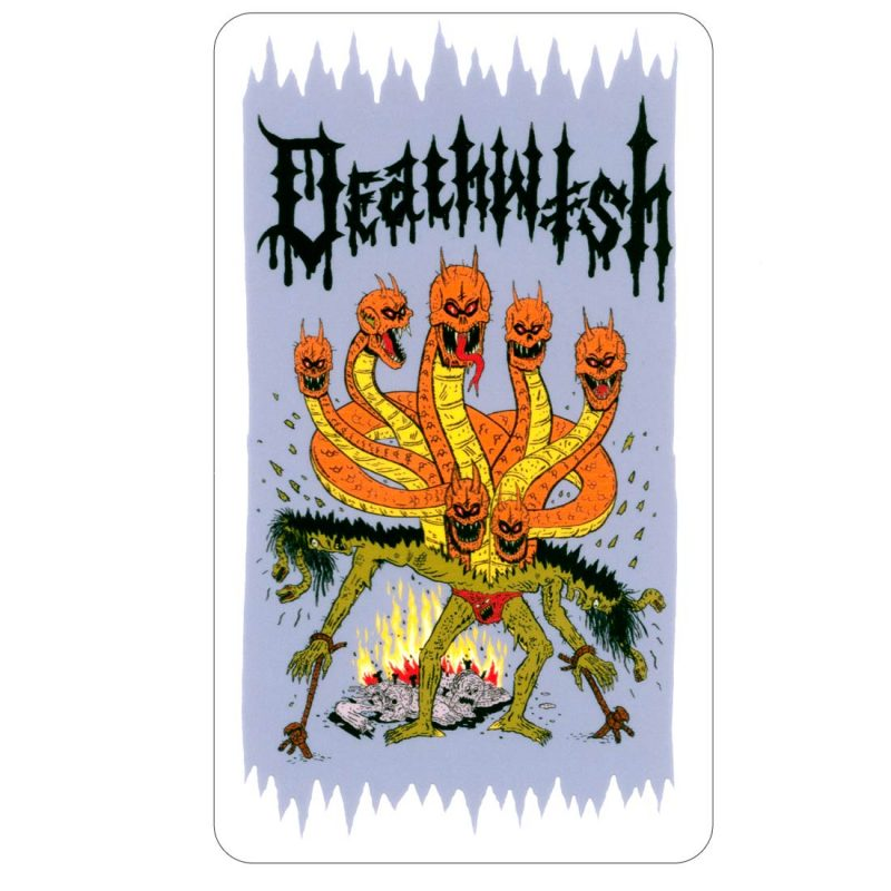 DEATHWISH MEDUSA DRAGON STICKER CANADA VANCOUVER LOCAL ONLINE PICKUP