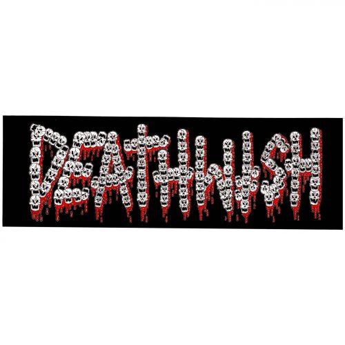 DEATHWISH SKULLS FONT STICKER Canada Online Pickup Vancouver