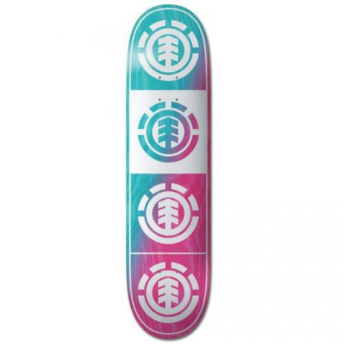 Element Quadrant deck 8.0 x 31.753 teal pink Skateboard Canada Pickup Vancouver