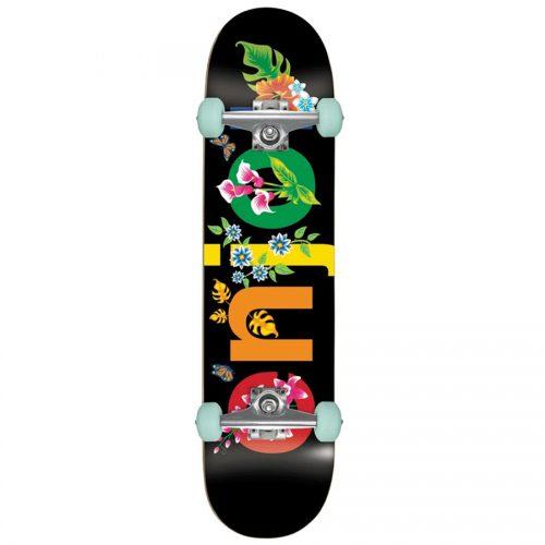 Enjoi Flowers Resin Premium Complete 8 x 31.6 Black Skateboard Canada Online Sales Vancouver Pickup