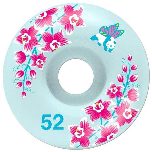 Enjoi Pastel skateboard wheels 52mm 99a light blue Canada Online Sales Vancouver Pickup