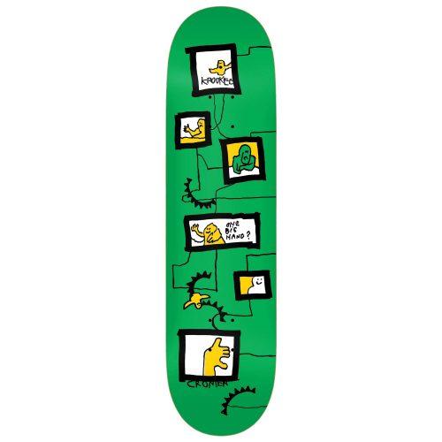 Krooked Cromer Frames Deck 8.12 x 31.38 Green Skateboard Canada Pickup Vancouver