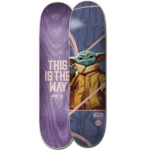 Element Star Wars MANDALORIAN CHILD deck Canada Online Sales Vancouver Pickup Warehouse Distributor
