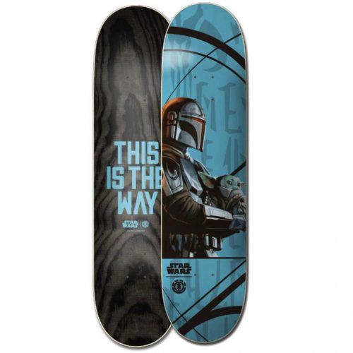 Element Skateboards MANDALORIAN MANDO CHILD DECK Canada Online Sales Vancouver Pickup Warehouse Distributor