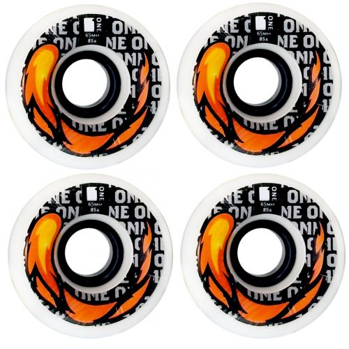 ONE WHEEL CO. FIERY SLIDES 65MM 85A WHITE CANADA ONLINE SALES VANCOUVER PICKUP