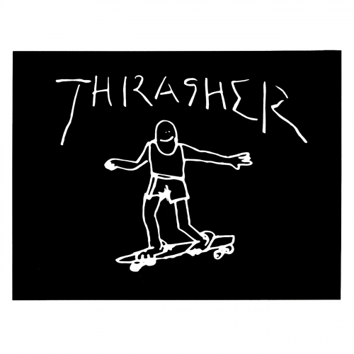 THRASHER GONZ STICKER VANCOUVER LOCAL CANADA PICKUP