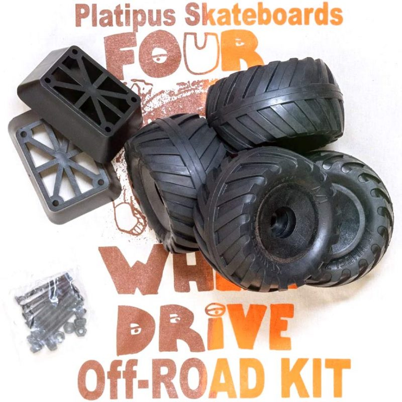 Platipus Skateboards XT Offroad Wheels Canada Pickup Vancouver