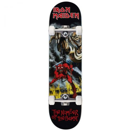 Zero x Iron Maiden Number of the Beast Complete 8 x 31.5 black Canada Online Sales Vancouver Pickup