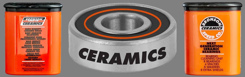 Bronson Ceramic Bearings - BOARDER LABS and CalStreets Skate