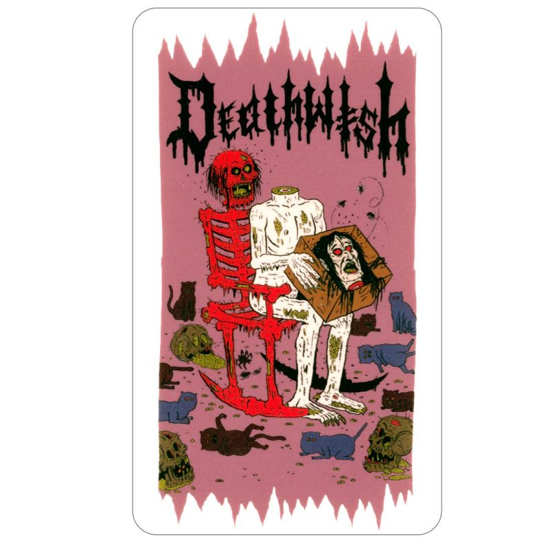 DEATHWISH HESH HEAD IN A BOX STICKER CANADA ONLINE VANCOUVER PICKUP