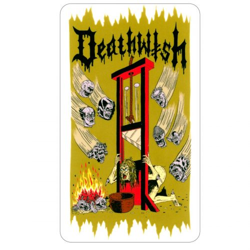 DEATHWISH WITCH TRIALS STICKER VANCOUVER CANADA LOCAL PICKUP