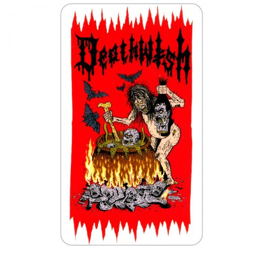 DEATHWISH KITCHEN WITCH STICKER CANADA VANCOUVER LOCAL ONLINE PICKUP