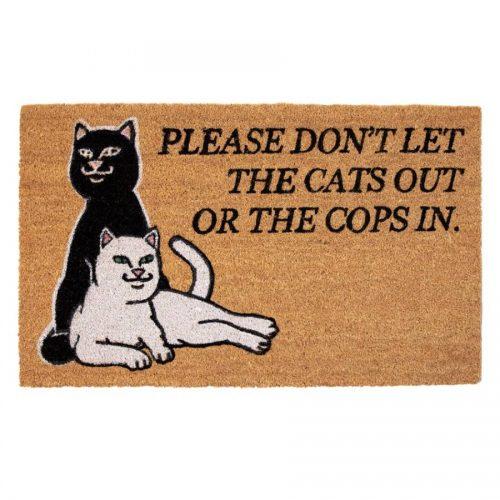 Rip N Dip Don't Let The Cops In Door Mat Canada Online Sales Vancouver Pickup