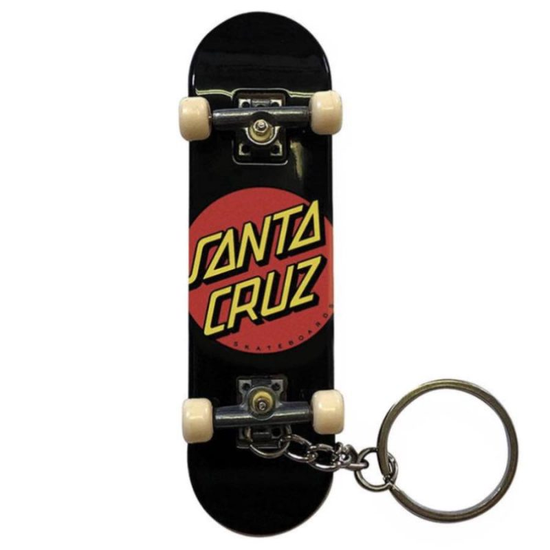 Santa Cruz Classic Dot Fingerboard Keychain Canada Online Sales Vancouver Pickup