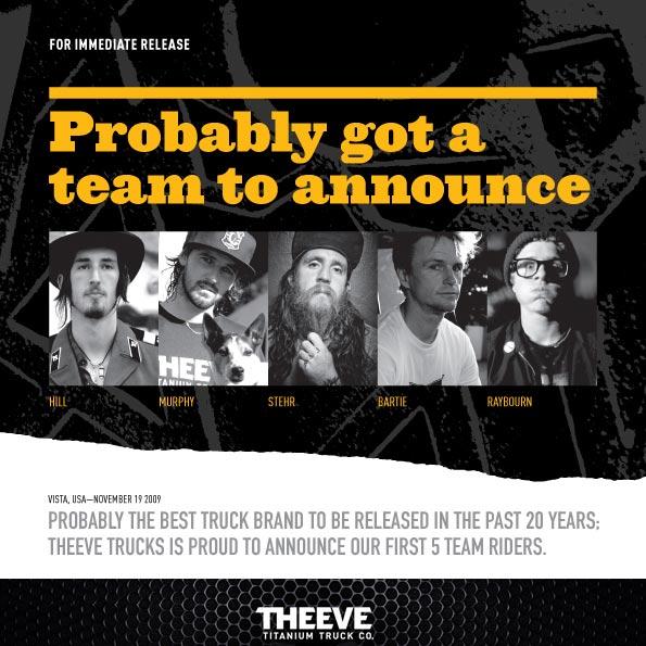 Theeve Titanium Trucks Canada Pickup Vancouver
