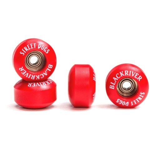 Blackriver Fingerboard Wheels Streetdogs Red Canada Online Sales Vancouver Pickup