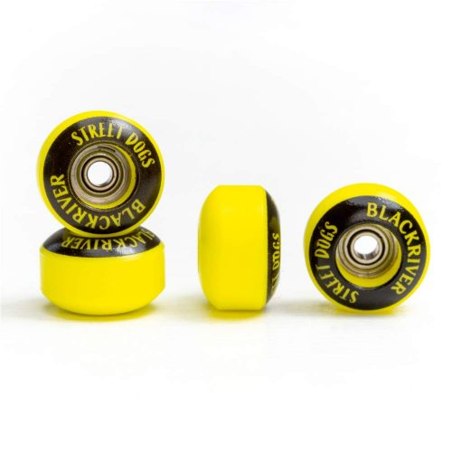 Blackriver Streetdogs Yellow Fingerboard Wheels Canada Pickup Vancouver